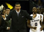 Kansas State Two Guard Front Set Play with Frank Martin