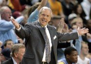 North Carolina Tarheels Early Offense Action with Roy Williams