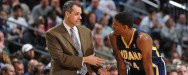 """interim-coach Frank Vogel's Indiana Pacers """"A"""" Set Play"""