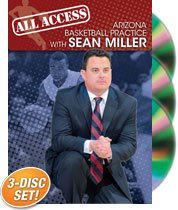 Arizona All Access Practice Basketball Coaching Clinic DVDs
