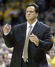 Tom Crean's Indiana Hoosiers Half Court Man Continuity Offensive Action