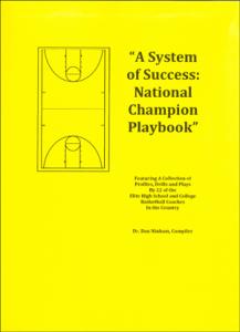 high school basketball playbook pdf