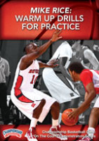 Mike Rice | Warm Up Drills for Practice | Rutgers University Basketball | Nike Championship Coaching Clinics