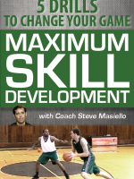 Steve Masiello |Maximum Skill Development Dvd | 5 Drills to change your Game | Level X Hoops