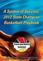2012 State Champion Basketball Playbook Cover