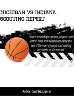 Michigan vs Indiana Scouting Report Playbook