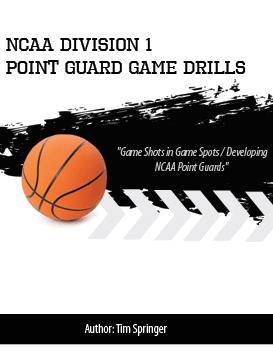 NCAA Division 1 Point Guard Game Drills thumbnail Tim Springer