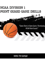 NCAA Division 1 Point Guard Game Drills by Tim Springer
