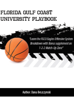 Andy Enfield Florida Gulf Coast University Offensive Playbook with 1-2-2 Match-up Zone