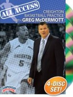 Greg McDermott All Access Creighton Basketball Practice Dvds