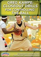 Greg Kampe:  Closeout Drills for Controlling the Ball
