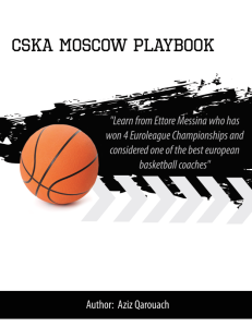 CSKA Moscow Playbook Thumbnail