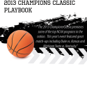 2013 Champion Classic Basketball Playbook