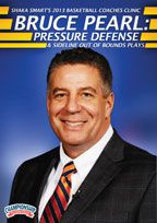 Shaka-Smarts-2013-Basketball-Coaches-Clinicbr-Bruce-Pearl-Pressure-Defense-amd-Sideline-Out-of-Bounds-Plays