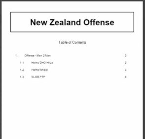 New Zealand Offense