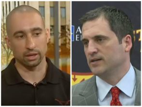Shaka Smart and Steve Prohm