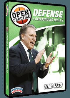 Tom Izzo Rebounding and Defense Drills