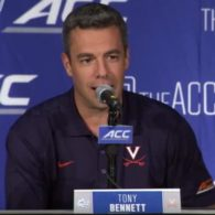 Tony Bennett Virginia Cavaliers Set Play by Dana Beszczynski