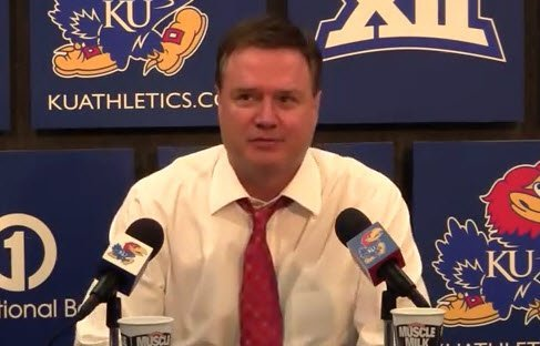 "Bill Self Kansas Jayhawks ""2"" Quick Hitter by Dana Beszczynski"