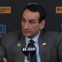 Mike Krzyzewski Duke Blue Devils offense