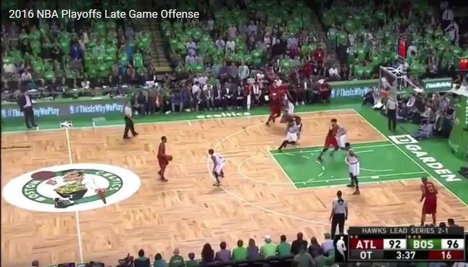 2016 NBA Playoffs Late Game Offense by John Zall