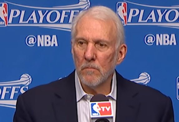 Gregg Popovich San Antonio Spurs Secondary Wing Ball Screen