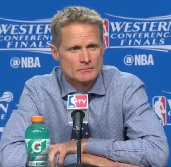 Steve Kerr NBA Golden State Warriors Quick