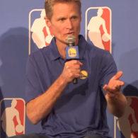 Steve Kerr NBA Golden State Warriors Quick Hitters