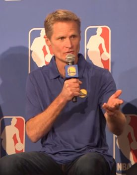 Steve Kerr NBA Golden State Warriors Quick Hitters