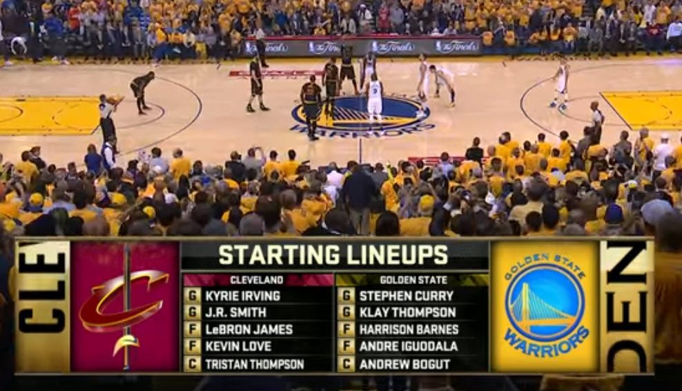 2016 NBA Finals Ball Screen Sets by John Zall