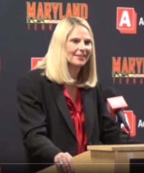 Brenda Frese Maryland Terripan Shooting Drills
