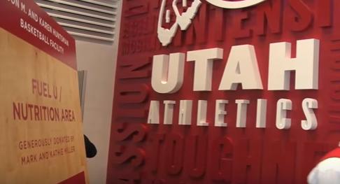 Larry Krystkowiak Utah Utes Zone Post Up
