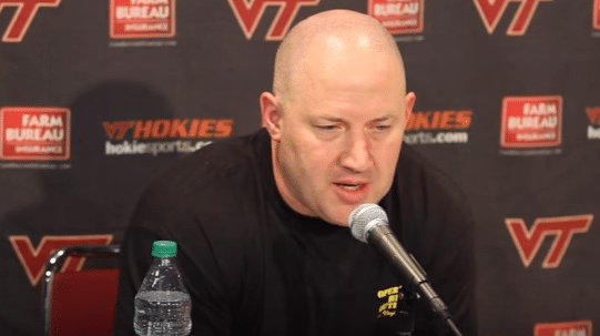 Buzz Williams – Virginia Tech Exchange Point Pin