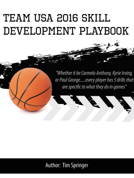 Team USA 2016 Skill Development Playbook