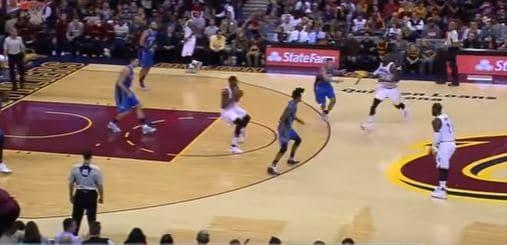 Tyronn Lue Cleveland Cavaliers Scissor Flip Play by Wes Kosel