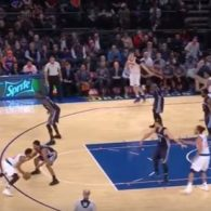 Jeff Hornacek New York Knicks Rose Stagger Single Play
