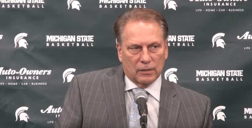 Tom Izzo Michigan State BLOB Fake Pin Step Out Play