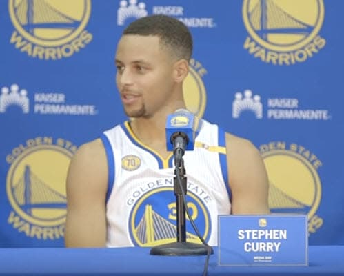 NBA Golden State Warriors Christmas Day Set Plays