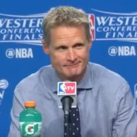 Steve Kerr Golden State Warriors SLOB