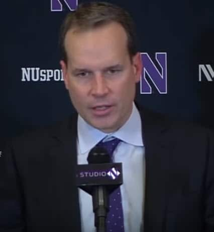 Chris Collins Northwestern Wildcats Set Plays