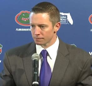 Mike White Florida Gators Set Plays