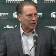 Tom Izzo Michigan State Spartans Hawk Set Play by Dana Beszczynski