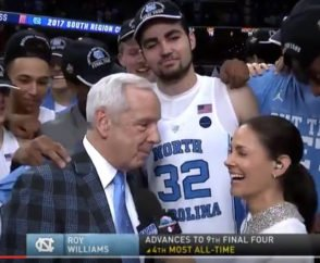 Roy Williams North Carolina Tar Heels Secondary Break