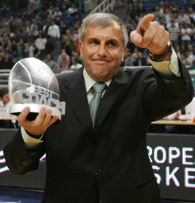 The Best Euroleague Final Four Coach:  Zeljko Obradovic Clinic Notes