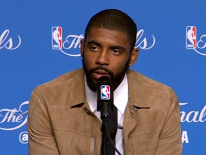 NBA Guard Kyrie Irving