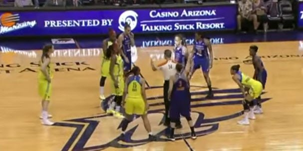WNBA Early Offense by Layton Westmoreland