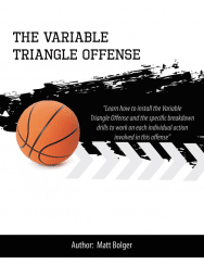 variable triangle offense