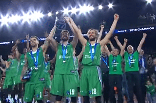 Darussafaka Istanbul wins the 2018 Euro Cup title! by Chris Filios