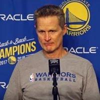 NBA Golden State Warriors Steve Kerr