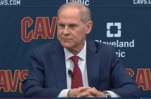 John Beilein To The Cleveland Cavaliers by Chris Filios